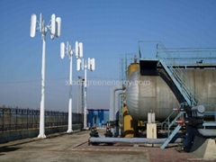 2kw vertical wind turbine generator/ home wind power system