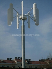 3kw vertical wind turbine generator/ home wind power system