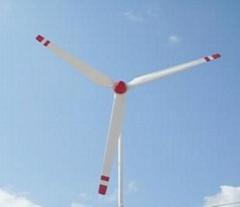 10kw horizontal wind turbine system with brake system