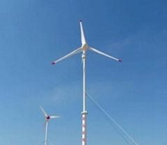 5kw horizontal wind turbine system with brake system