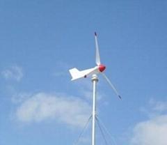 2kw horizontal wind turbine system with brake system