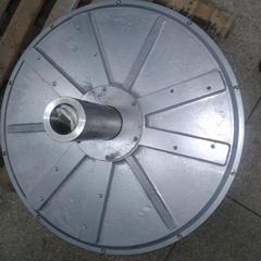 2kw 150rpm axial flux permanent magnet coreless generator for wind turbine