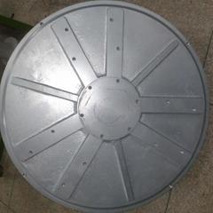 3kw 100rpm axial flux permanent magnet coreless generator for wind turbine