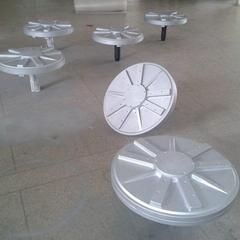 5kw 100rpm axial flux permanent magnet coreless generator for wind turbine