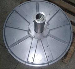 7.5kw 150rpm axial flux permanent magnet coreless generator for wind turbine