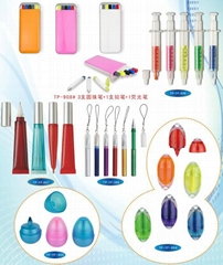 highlighter pen and stationery set
