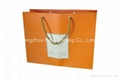 Paper bags printing for gift with cotton