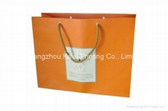 Paper bags printing for gift/shopping full color with cotton handles
