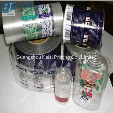Custom labels/stickers printed on rolls waterproof vinyl material cheap price 3