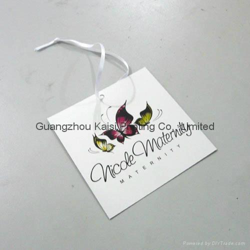 Custom Garment Hang Tag Printing 3