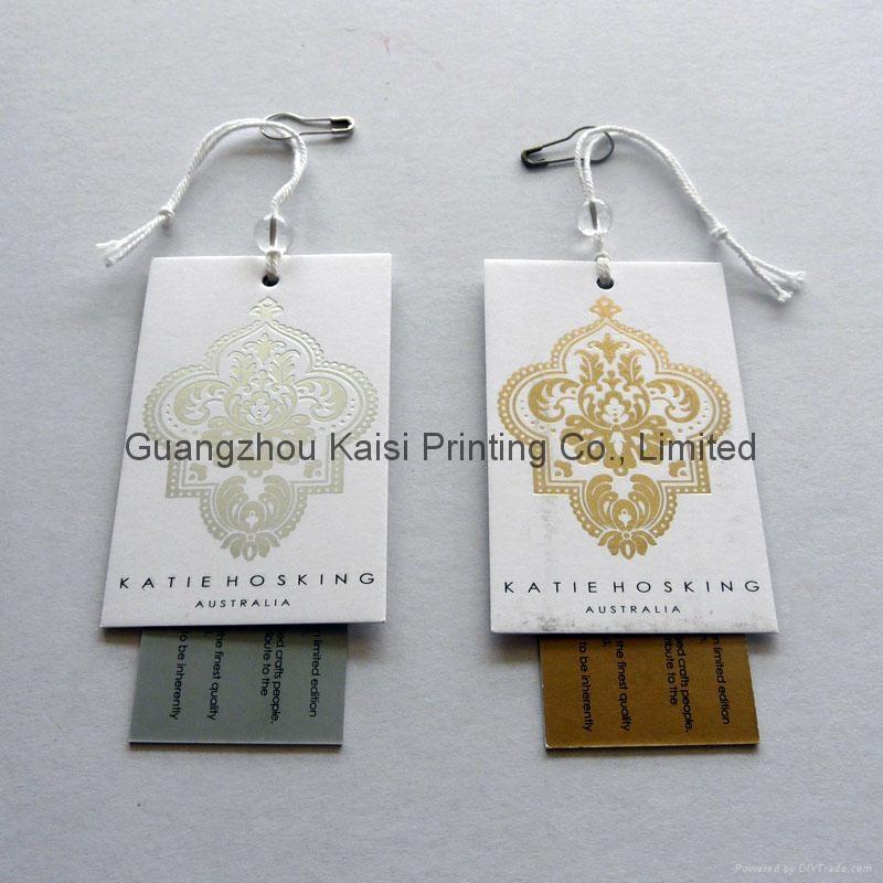 Custom Garment Hang Tag Printing 5