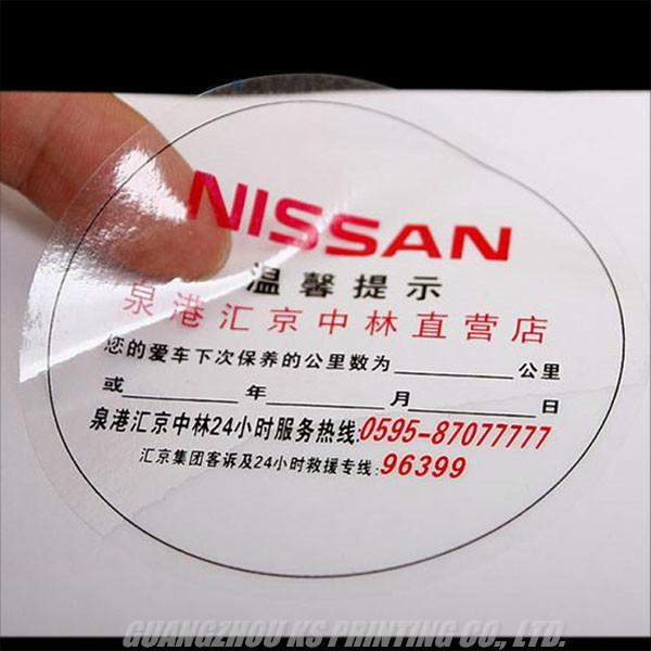 Custom Clear Labels, Clear Stickers Printing, Transparent