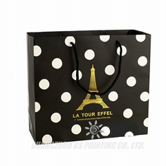 Custom Paper Bags with Handles, Paper Gift Bags Printing Company in China