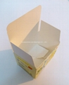 Costom boxes printed for packaging 350gr kraft paper/gloss paper