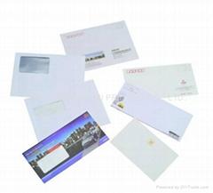 Business envelopes printing services custom logo