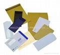 Custom envelopes printed with window paper/kraft material