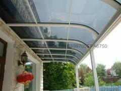定製蘇州鋁合金窗台棚