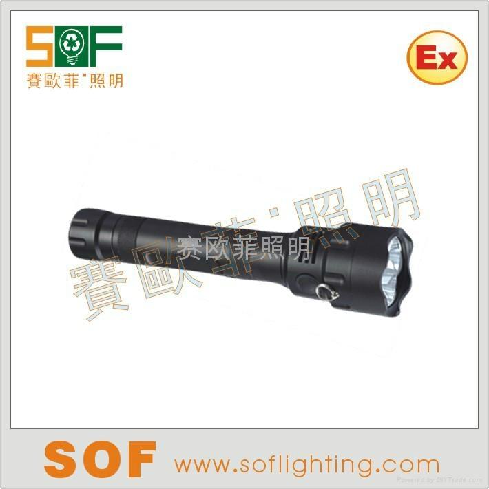 強光防爆調光電筒 1