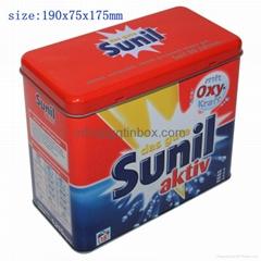 detergent powder tin