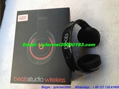 studio wireless 2.0 beats by dr.dre with box