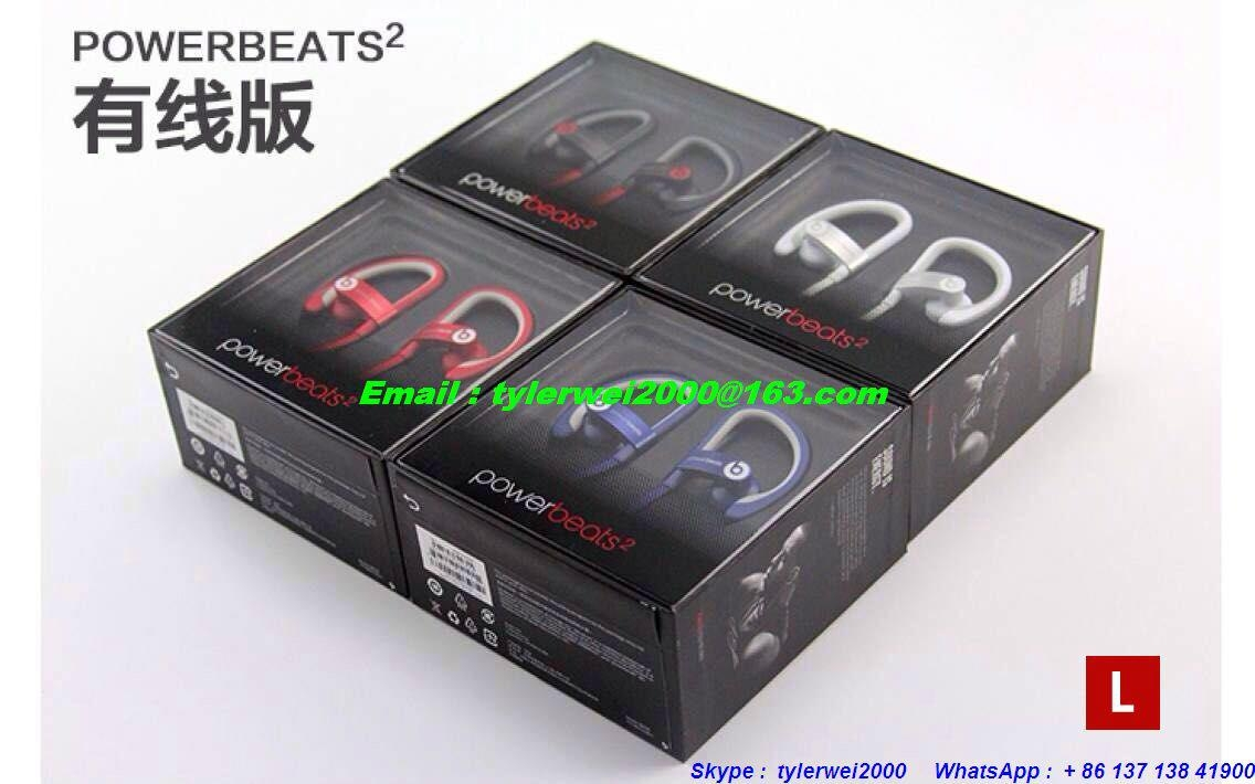 Beats powerbeats 2 by dr.dre metal body with high quality good price  6