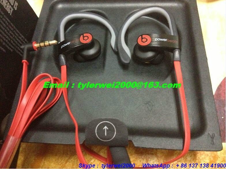 Beats powerbeats 2 by dr.dre metal body with high quality good price  4