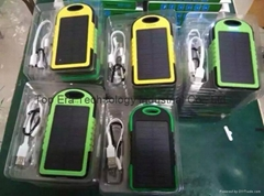 Solar charger with High Quality Low Price Waterproof  for Wholesale Power Bank