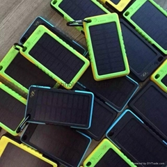 High Quality Good Price for Power Bank with waterproof Solar Charger