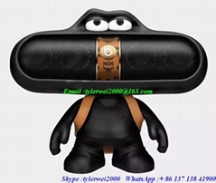 Beats X MCM Pill 2.0 + character with bag beats speaker good quality as original