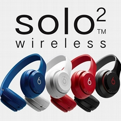 beats solo2 wireless on-ear headphone new beats by dr dre solo2 bluetooth (Hot Product - 3*)