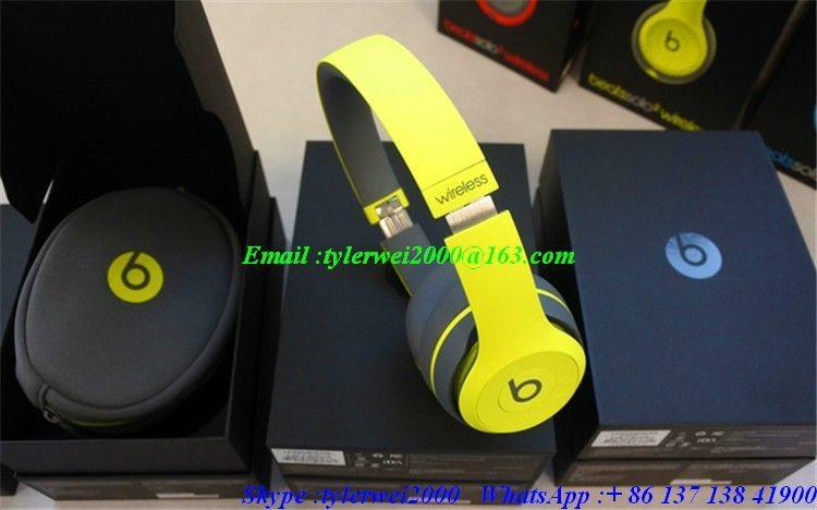 beatssolo2 wireless shock yellow