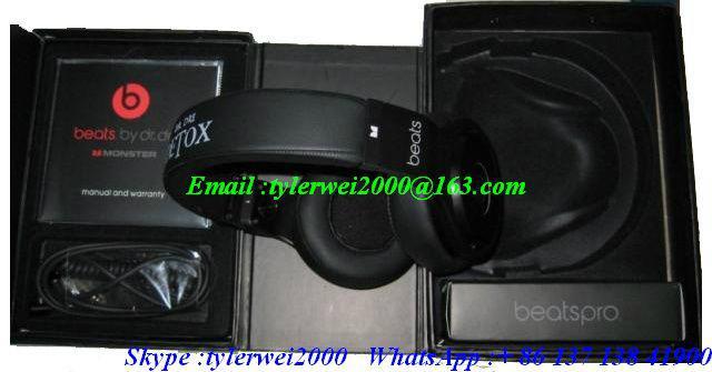 Beats Pro Over - Ear headphone beats by dr dre  3