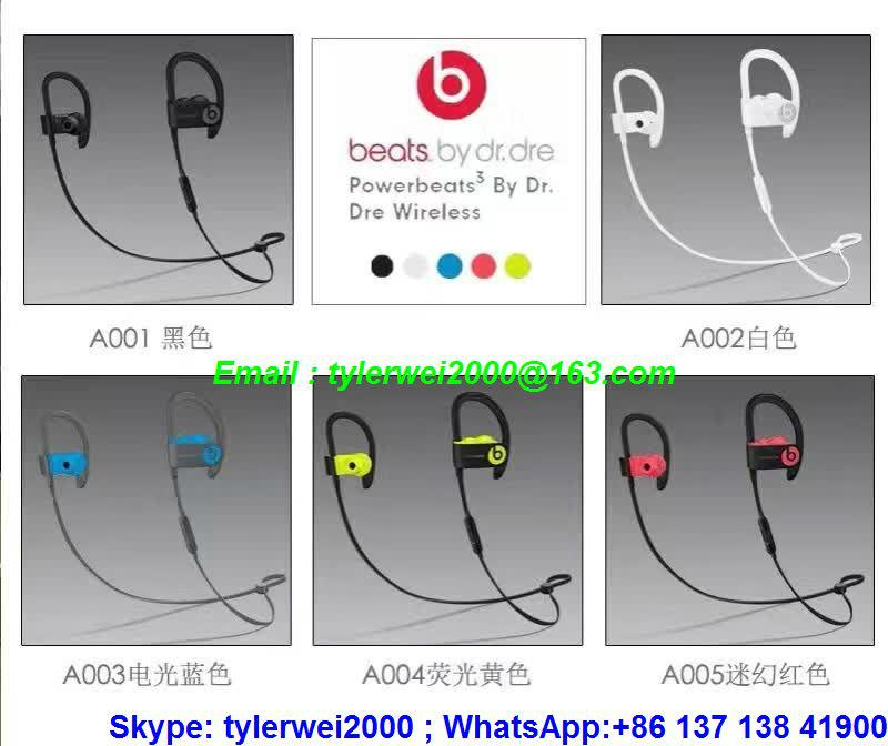 New hot sellings beats sports earbud beats powerbeats3 wireless 9