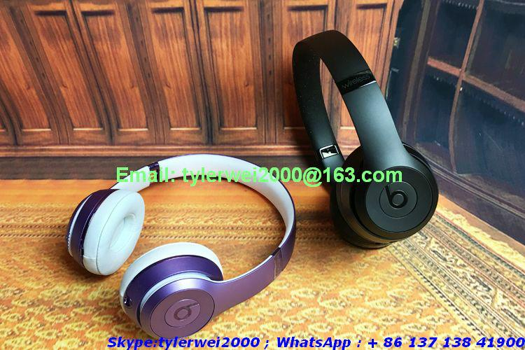 2017 New Beats by Dr.Dre solo3 Wireless headphones with high quality  8