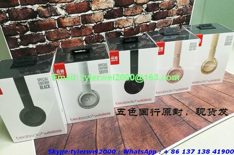 2017 New Beats by Dr.Dre solo3 Wireless headphones  20