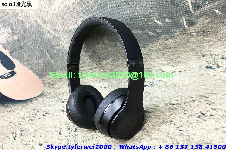 2017 New Beats by Dr.Dre solo3 Wireless headphones with high quality  14