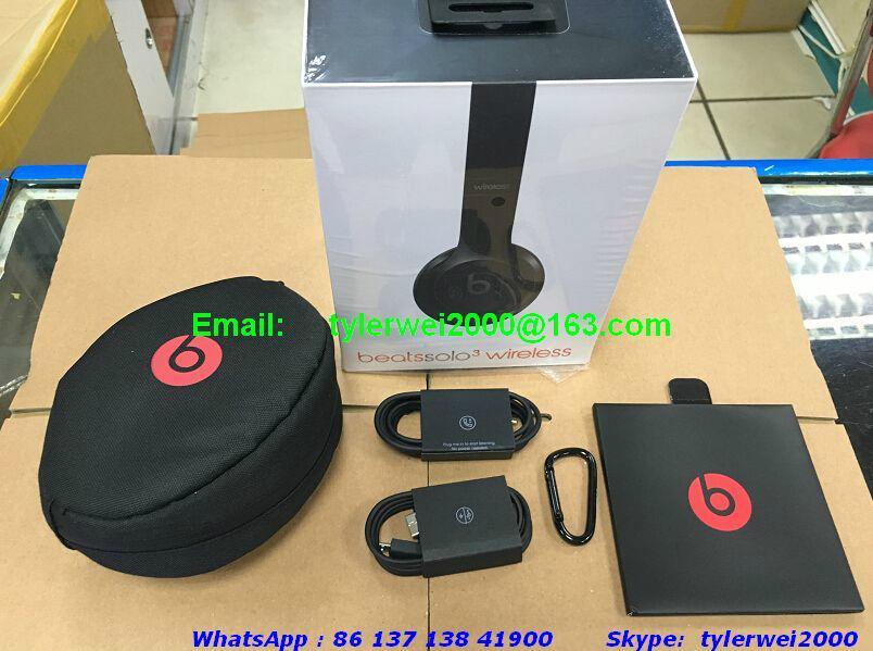 Beats by Dr. Dre - Beats Solo³ Wireless Headphones - Black 18