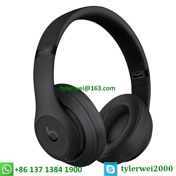 Beats Studio3 Wireless Headphones Matte Black 2