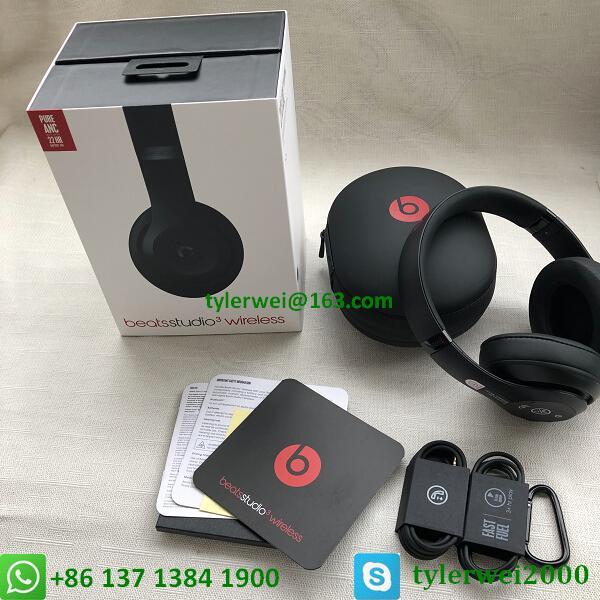 Beats Studio3 Wireless Headphones Matte Black beats by dr dre studio 3 19