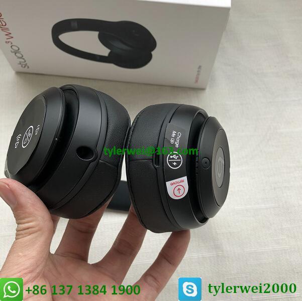 Beats Studio3 Wireless Headphones Matte Black beats by dr dre studio 3 16