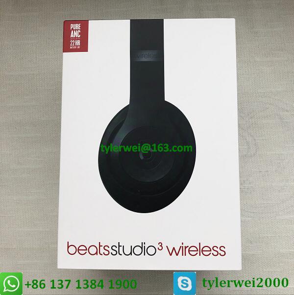 Beats Studio3 Wireless Headphones Matte Black 10