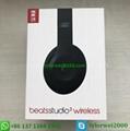 Beats Studio3 Wireless Headphones Matte Black beats by dr dre studio 3 10
