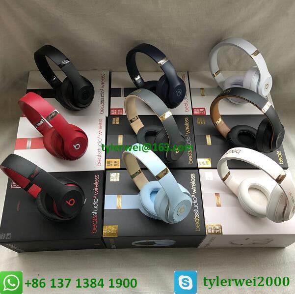 Beats Studio3 Wireless Headphones Matte Black 20