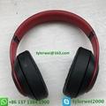 Beats Studio3 Wireless Headphones Noise Canceling Defiant Black-Red  studio 3 6