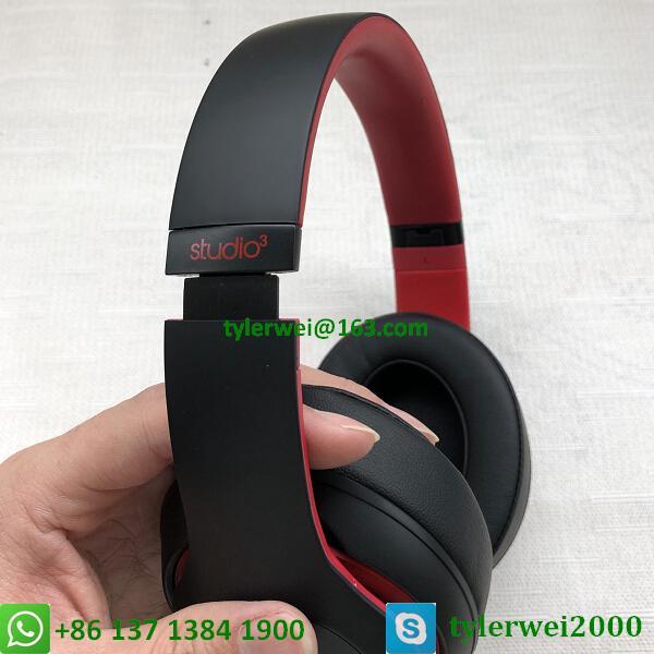 Beats Studio3 Wireless Headphones Noise Canceling Defiant Black-Red  studio 3 5
