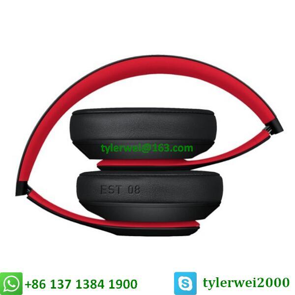 Beats Studio3 Wireless Headphones Noise Canceling Defiant Black-Red  studio 3 4