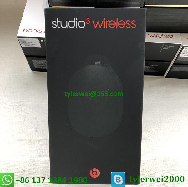 Beats Studio3 Wireless Headphones Noise Canceling Defiant Black-Red  studio 3 15