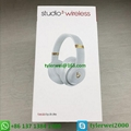 Beats Studio3 Wireless Noise Canceling Over-Ear Headphones - White 13