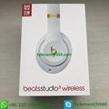 Beats Studio3 Wireless Noise Canceling Over-Ear Headphones - White