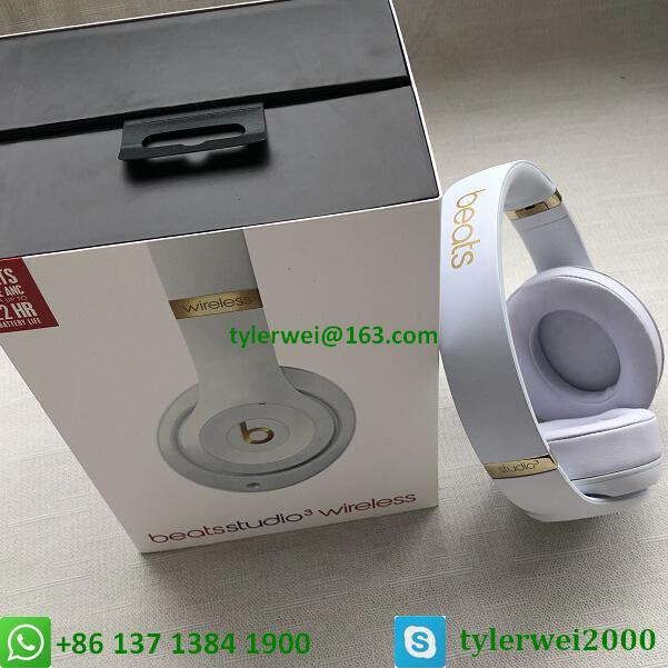 Beats Studio3 Wireless Noise Canceling Over-Ear Headphones - White 18
